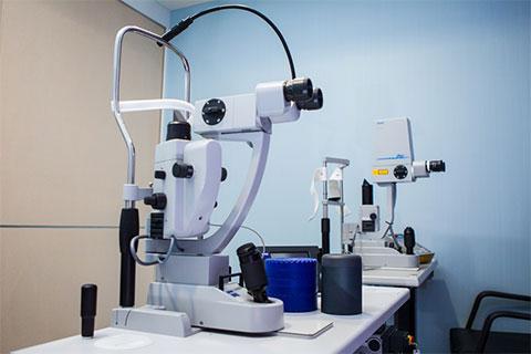 อธิบายอุปกรณ์เครื่องวัดสายตาสำหรับการแพทย์
